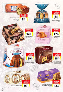 CATALOG Carrefour Craciun decembrie 2018 panetone