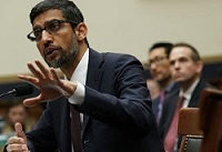 Big question to Google CEO - Why when I search 'idiot' do I get pictures of Trump?