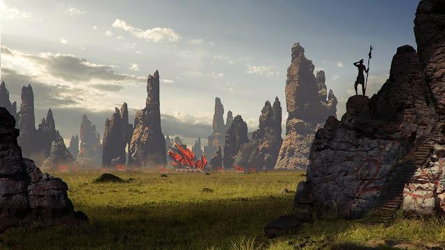 Thế giới lộng lẫy của Dragon Age 3 qua những bức nguyên họa