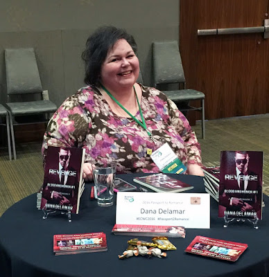 Dana Delamar, author of the Mafia romance Blood and Honor series