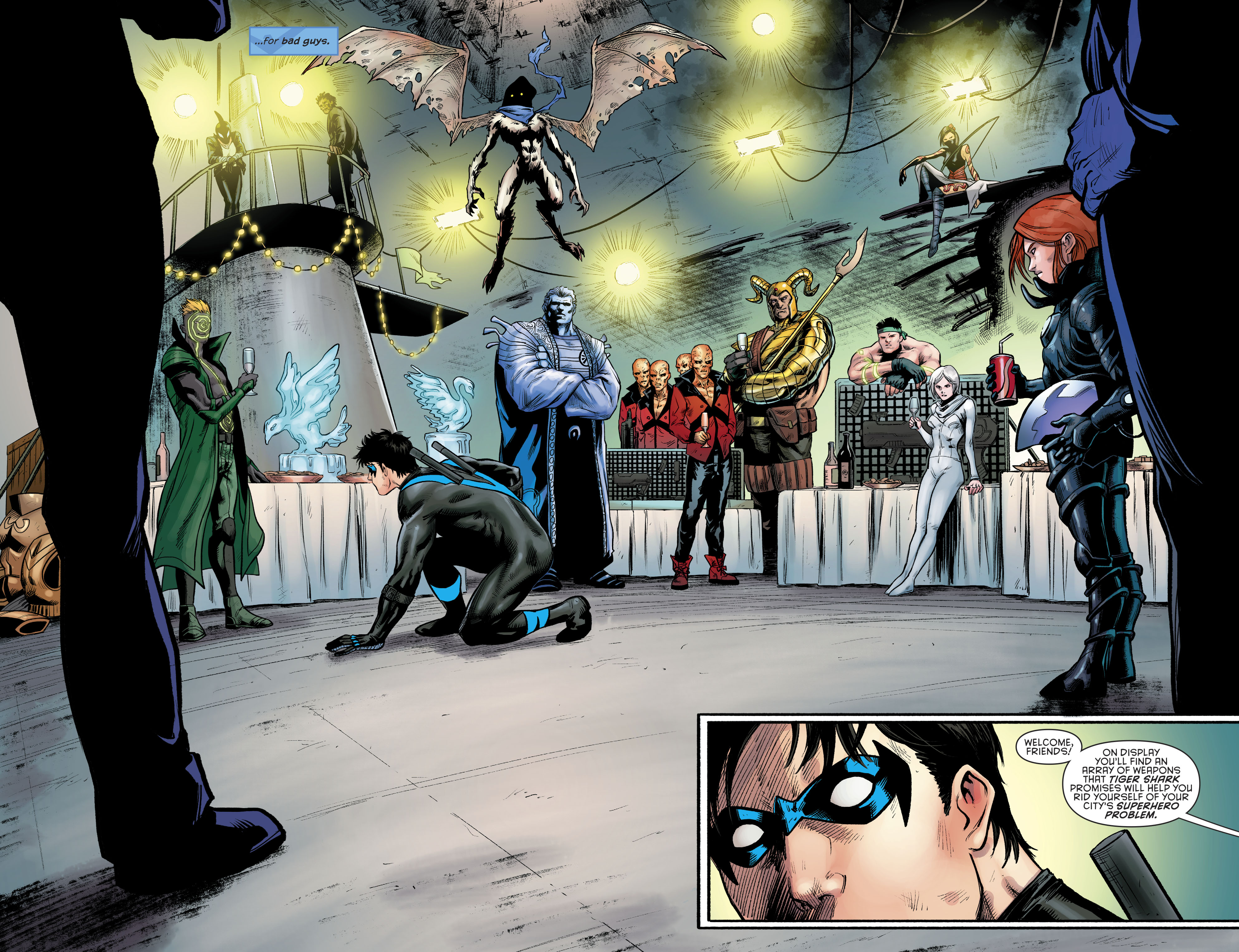 Read online Nightwing (2016) comic -  Issue #23 - 21