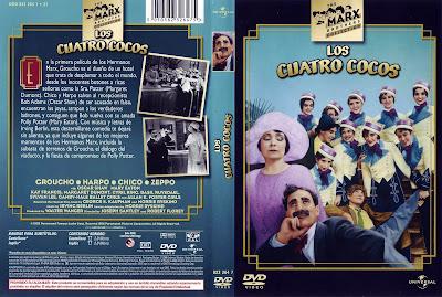 Carátula dvd: Los cuatro cocos (1929)