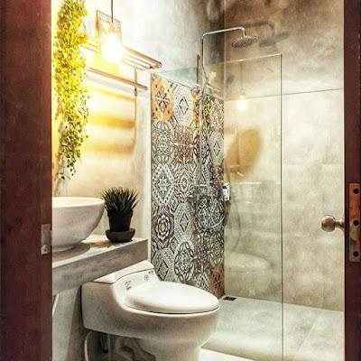 desain kamar mandi ukuran 1x1