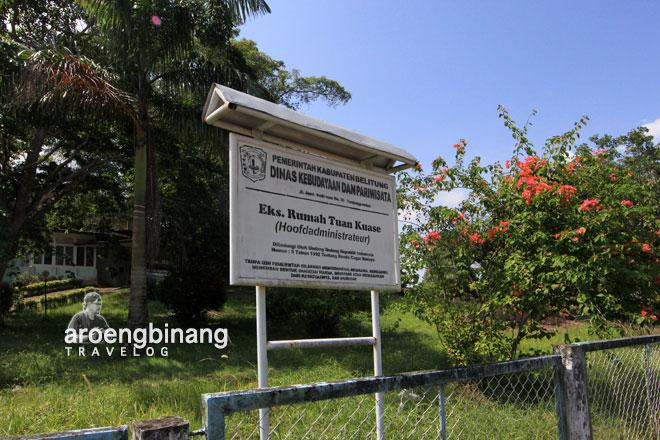 eks rumah tuan kuase belitung