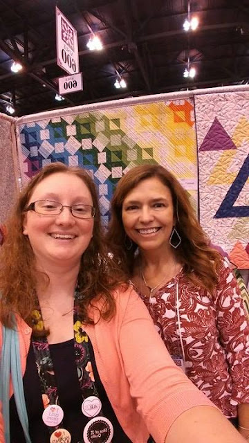 Slice of Pi Quilts meets Sarah Maxwell
