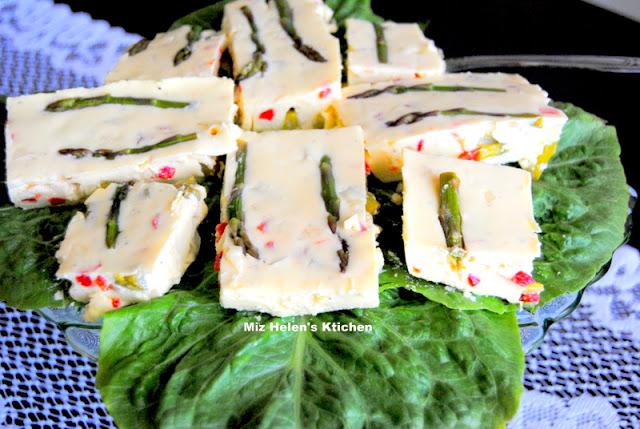 Creamy Lemon Asparagus Salad at Miz Helen's Country Cottage