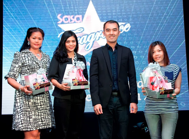 Sa Sa Annual Fragrance Fair and Awards, Fragrance, Top 3 winners of Sa Sa Scent & Win Contest