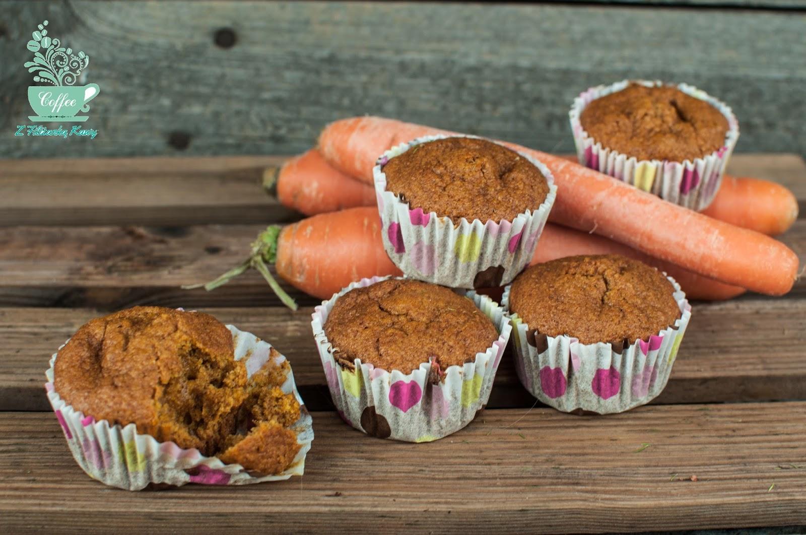 muffinki marchewkowe dietetyczne