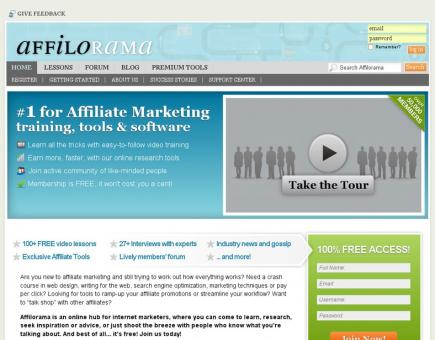 affilorama the 1 affiliate marketing training portal - Best Tips For Affiliate Promotion Right At Your Fingertips