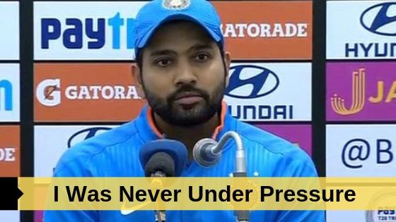 Rohit Sharma Press Confrense