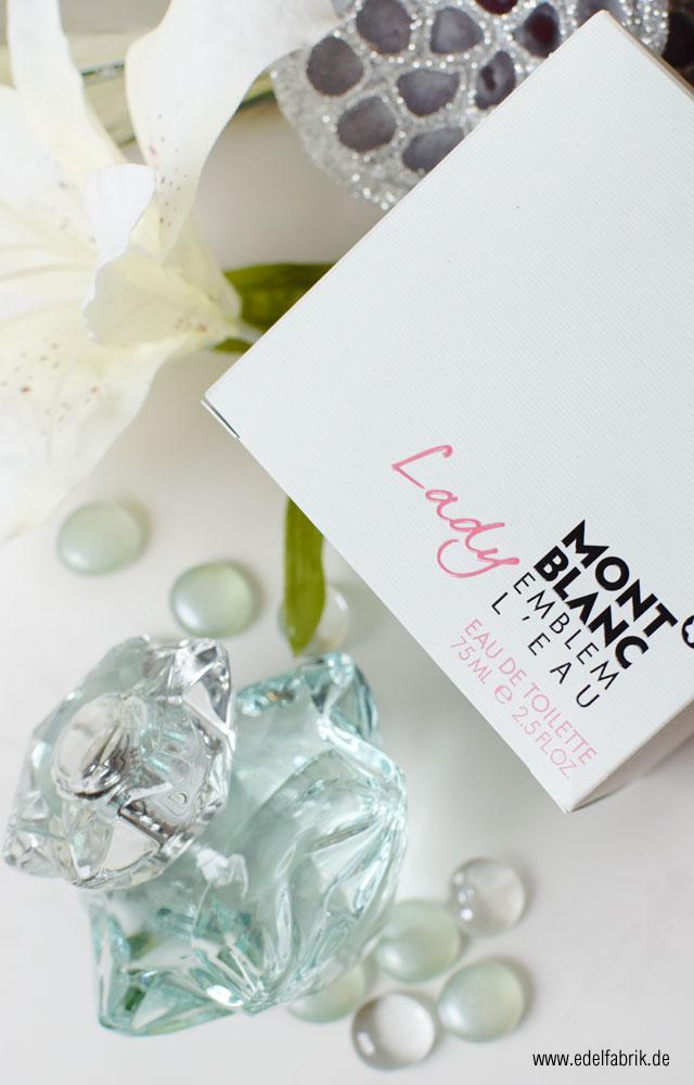 Montblanc Lady Emblem L'Eau, neues Parfum, grüner Duft