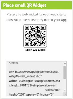 How to create an android app without coding using AppsGeyser