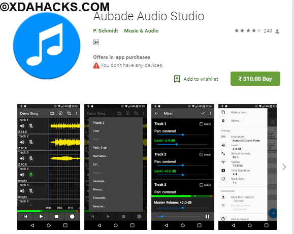 Aubade Audio Studio v1.7.7 [Paid].apk