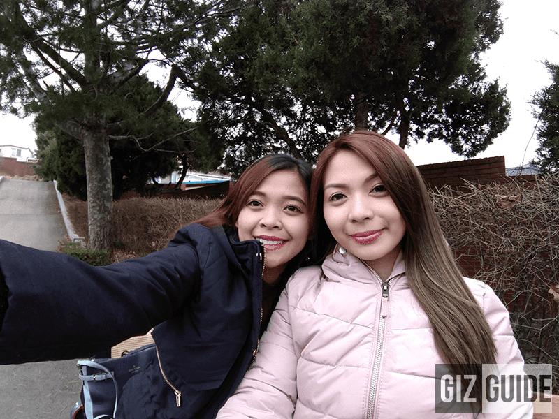 Wide selfie well-lit 2