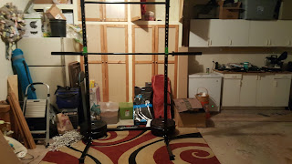 Garage Gym Set Up