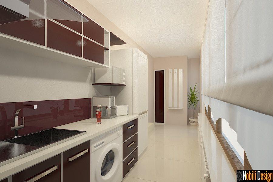 Mobila bucatarie moderna la comanda - Design interior bucatarii moderne Constanta
