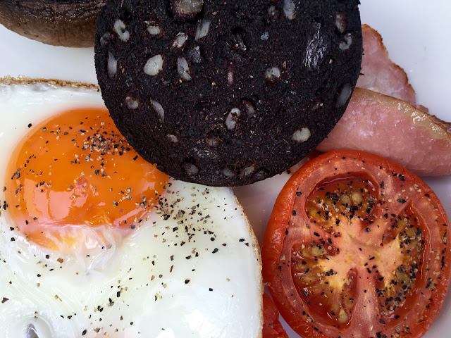 Great breakfast at the high field in birmingham