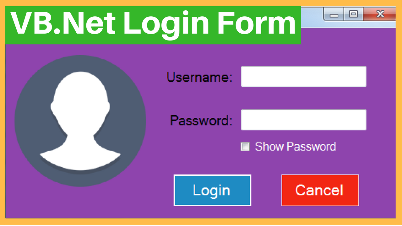 Login Form With MySQL - C#, JAVA,PHP, Programming