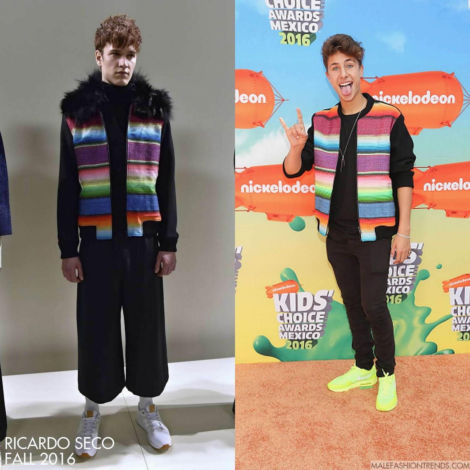 Fashion week 2017 amsterdam - Juanpa Zurita En Ricardo Seco Kids Choice Awards 2016