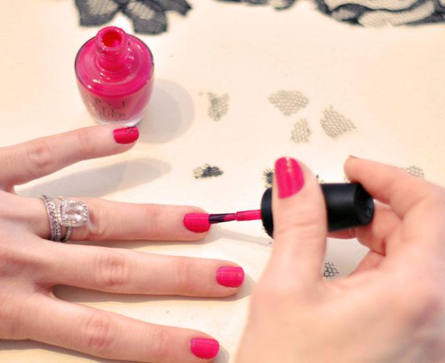 valentine's day nail inspiration, tutorial