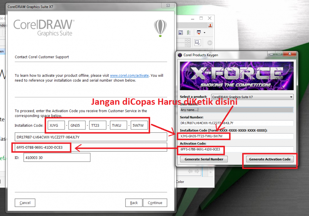 corel draw x7 crack keygen 32 64bit