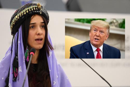 Donald Trump Questions Nadia