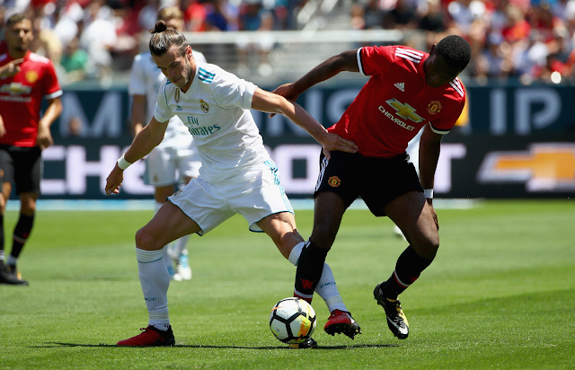 Real Madrid empató 1-1 con Manchester United
