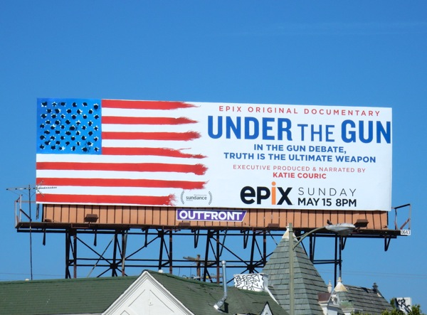 Under the Gun documentary billboard