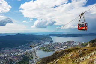Cable Car Mount Ulriken by Espen-Haagensen, visitBergen.com