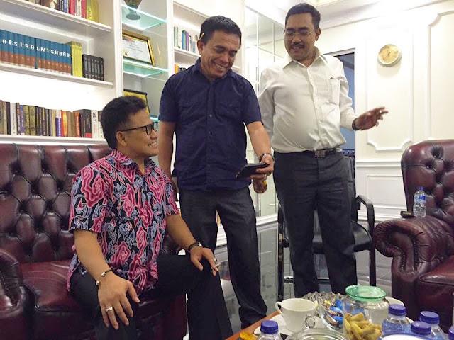 Irwandi Yusuf bertemu Cak Imin dikantor DPP PKB di Jakarta Pusat