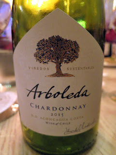 Arboleda Chardonnay 2015 - DO Aconcagua Coast, Chile (87 pts)