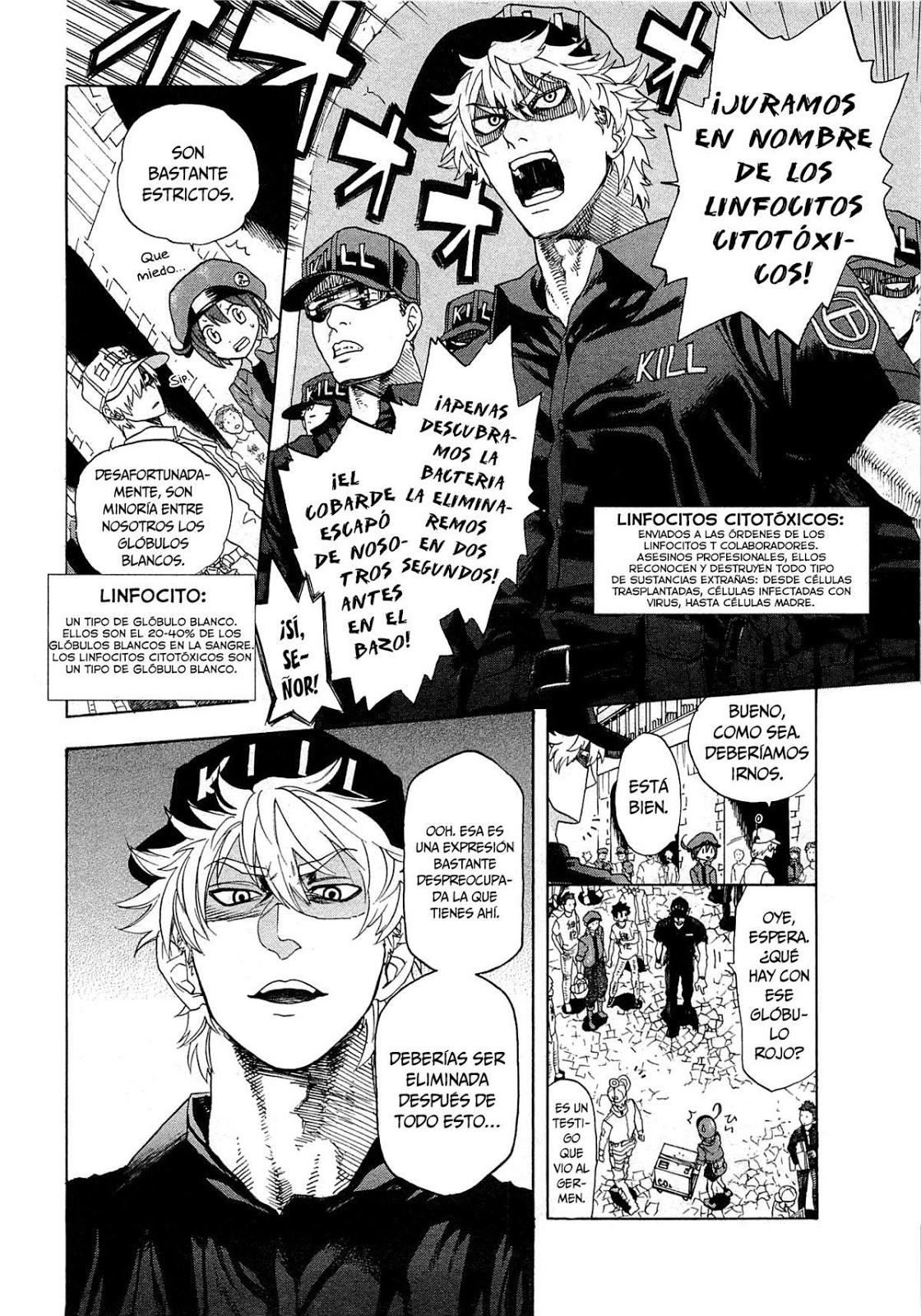 Manga cells at the work 1 sub español
