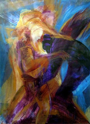 יעקב נאבק עם המלאך - יורם רענן