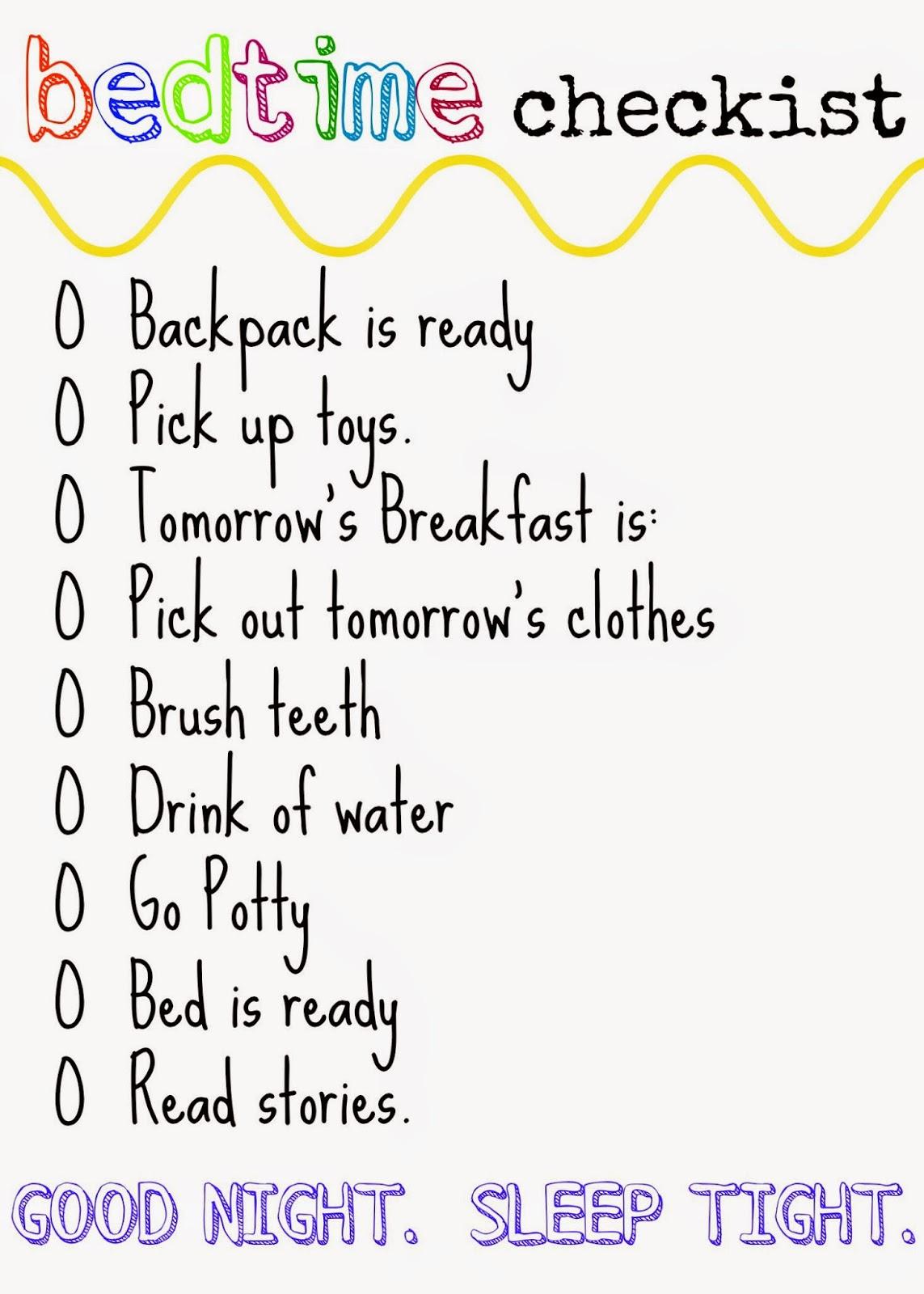 Kindergarten And Mooneyisms Checklist 1