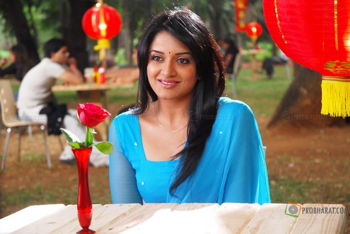 Telugu Actress Jyothi In Blue Salwar: Wallpapers Of Actress HD: Vimala Raman Latest Hot Blue