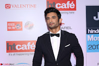 Red Carpet of Most Stylish Awards 2017 ~ Sushant Singh Rajput  (2).JPG