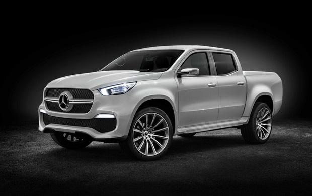 A Mercedes-Benz revelou nesta terça-feira (25) o conceito da picape média que será produzida na Argentina e vendida no Brasil até 2020