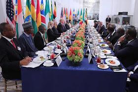 bt3 Photos: Pres. Buhari Exchange Pleasantries With Donald Trump News