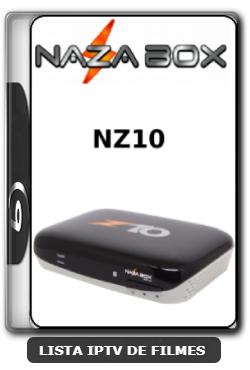 Nazabox NZ10 Nova Atualização Melhorias no sistema SKS keys V2.71 - 08-06-2020