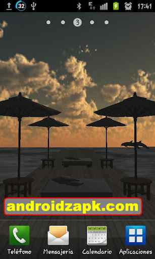 Beach In Bali 3D PRO Live Wallpaper (lwp) v1.4 apk