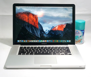 Macbook Pro 15 6.2 Core i5 Bekas