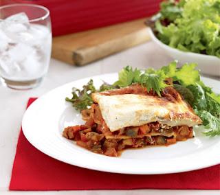 Herbed Eggplant Lasagna Recipe
