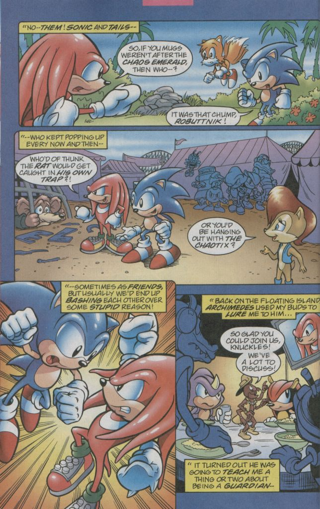 Read online Sonic The Hedgehog comic -  Issue #123 - 16
