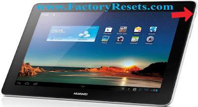 soft-reset-Huawei MediaPad 10 Link+