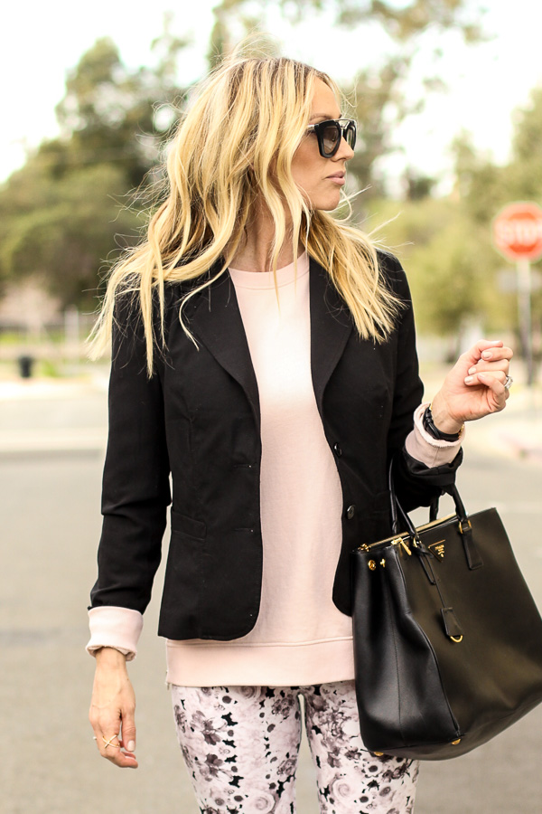 black blazer closet staple piece