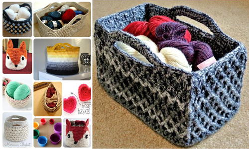 Free Crochet Basket Patterns for Beginners