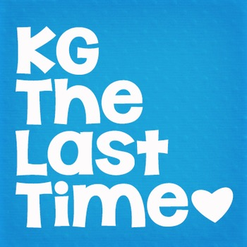 KG The Last Time Fonts