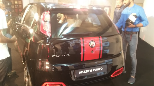 Abarth Punto Evo India Launch Fiat - Exterior