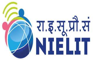 NIELIT Recruitment nielit.gov.in Apply Online Application Form