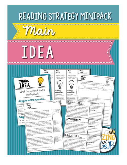 https://www.teacherspayteachers.com/Product/Main-Idea-Strategy-MiniPack-2078836